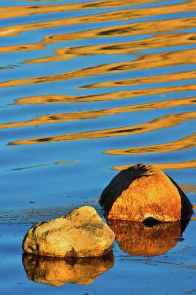 Photograph - Reflections In Zen by John De Bord