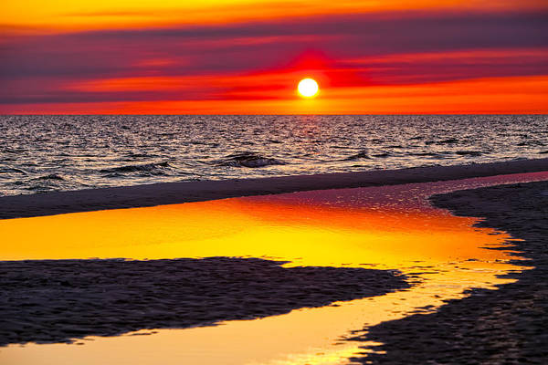 Gulf Of Mexico Photograph - Reflections by Janet Fikar