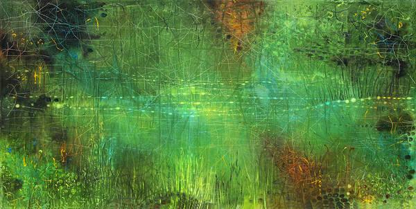 Wall Art - Painting - Reflections by Lolita Bronzini