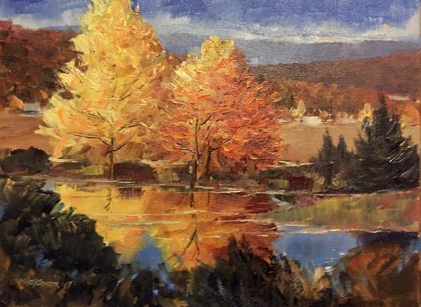 Painting - Reflections by Marty Coulter