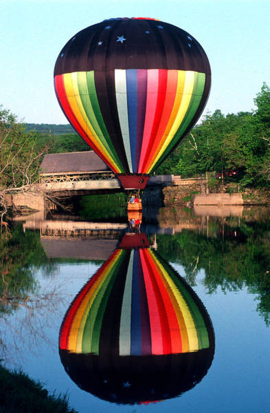 Photograph - Reflections Of A Balloonist by Jim DeLillo