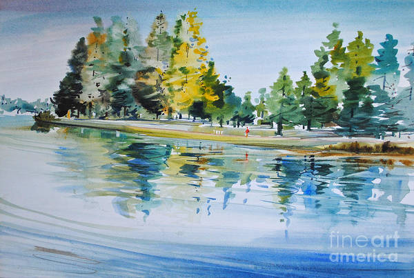 Painting - Reflections Of A Stroll by P Anthony Visco