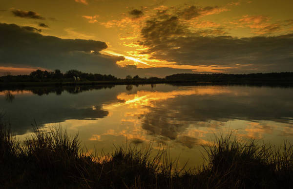 Photograph - Reflections Of A Sunset by Nick Bywater