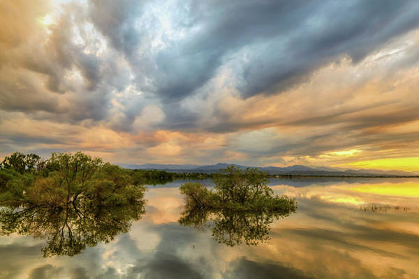 Photograph - Reflections Of A Thunderstorm by James BO Insogna