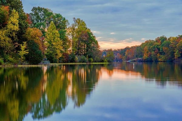 Wall Art - Photograph - Reflections Of Autumn by Lori Coleman