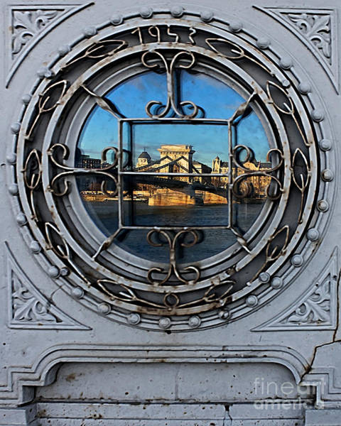 Photograph - Reflections Of Budapest by Peter Kennett