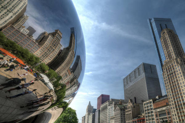 Photograph - Reflections Of Chicago by John Meader