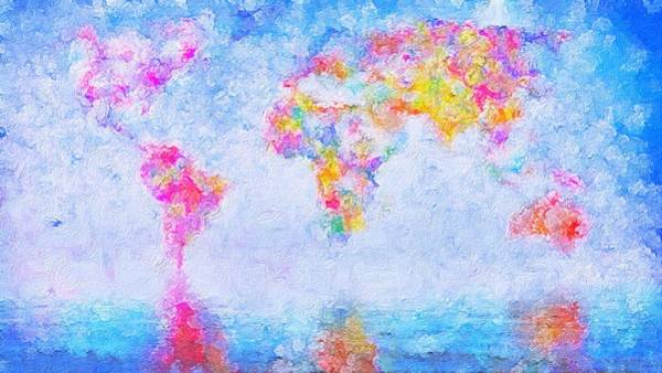 Painting - Reflections Of Earth by Mark Taylor