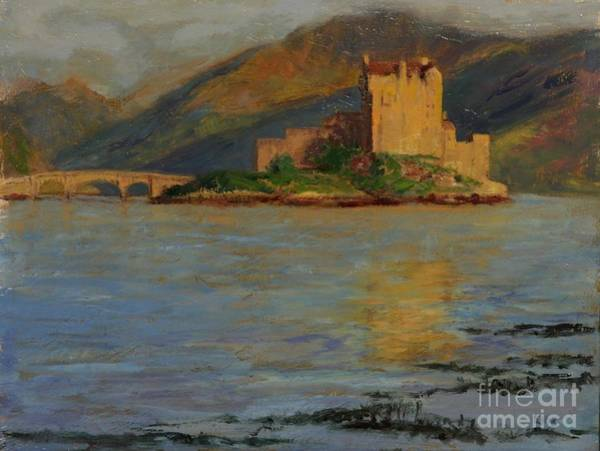 Eilean Donan Castle Painting - Reflections Of Eilean Donan by Don Ellis