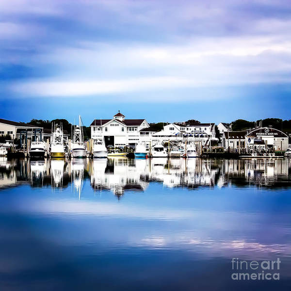 Hyannis Photograph - Reflections Of Hyannis Harbor by DAC Photo