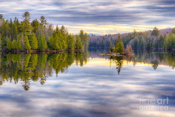 Photograph - Reflections Of Lake Abanakee by Rod Best
