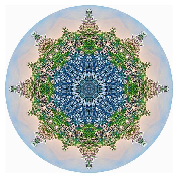 Digital Art - Reflections Of Life Mandala 2 by Beth Sawickie