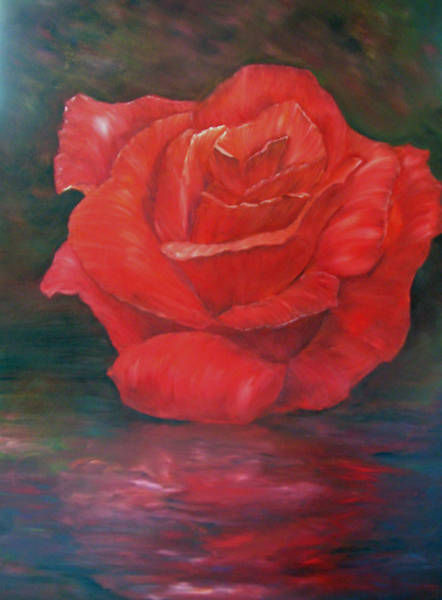 Reflections Of Love Art Print