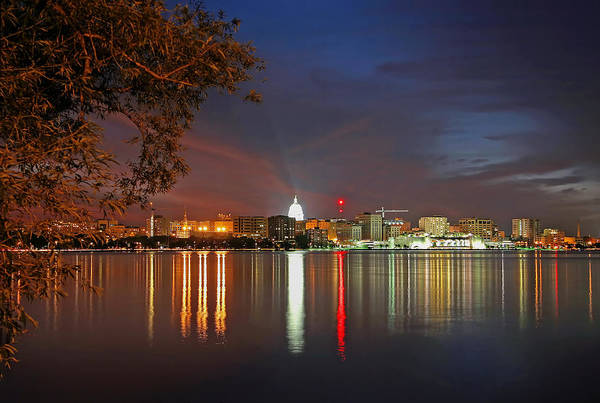 Photograph - Reflections Of Madison by Todd Klassy