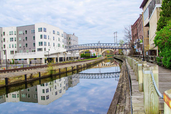 Wall Art - Photograph - Reflections Of Manayunk by Bill Cannon