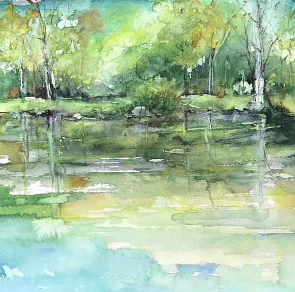 Painting - Reflections Of Memories by Robin Miller-Bookhout