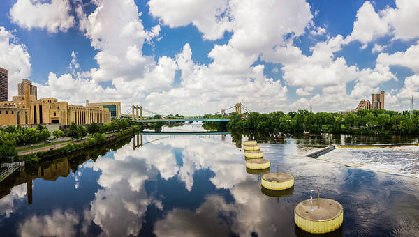 Photograph - Reflections Of Minneapolis by Mike Evangelist