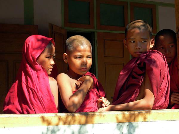 Photograph - Reflections Of Myanmar by Kurt Van Wagner