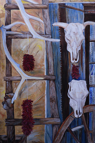 Painting - Reflections Of New Mexico by Kathy Knopp