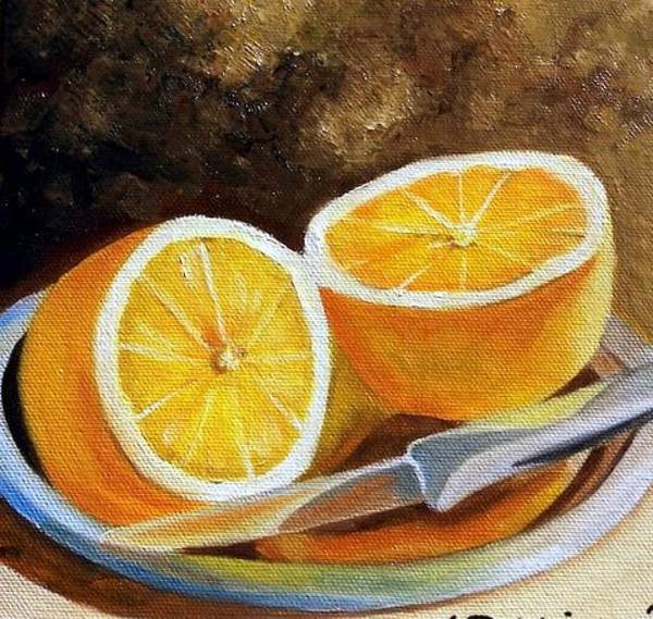 Painting - Reflections Of Orange by Susan Dehlinger