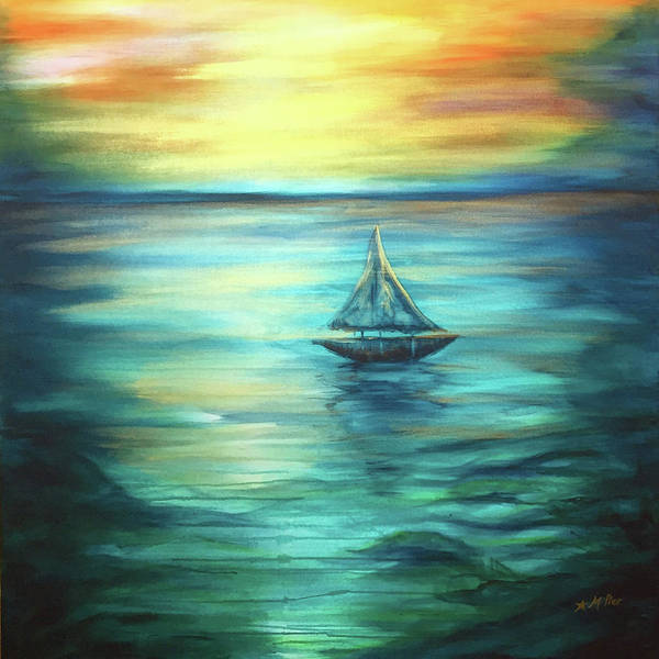 Painting - Reflections Of Peace by Michelle Pier