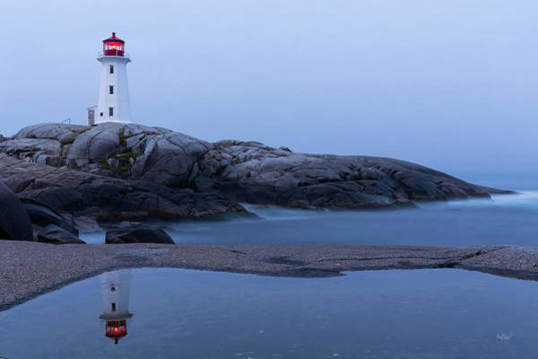 Peggys Cove Photograph - Reflections Of Peggy by Everet Regal