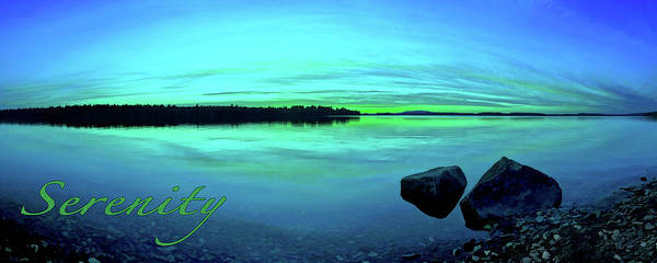 Photograph - Serenity by ABeautifulSky Photography by Bill Caldwell