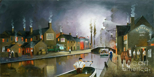 Painting - Reflections Of The Black Country by Ken Wood