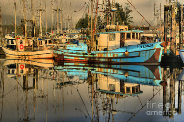 Port Of Vancouver Wall Art - Photograph - Reflections Of Tromso by Adam Jewell