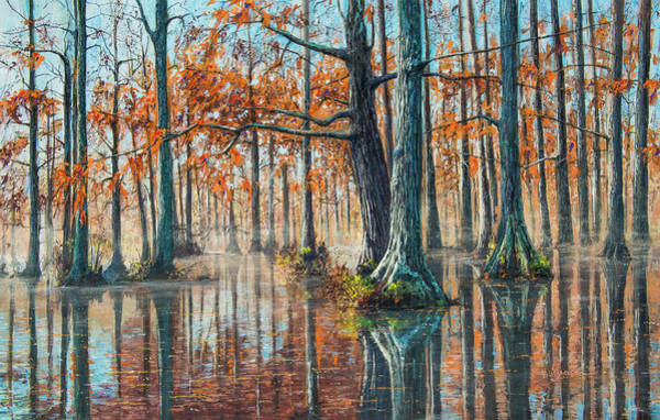 Reflections On Autumn Art Print