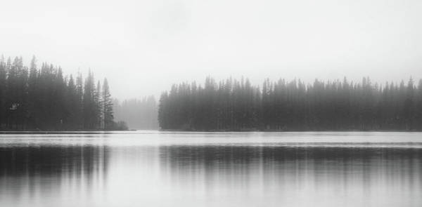 Donner Photograph - Reflections On Donner Lake by Adam Kilbourne