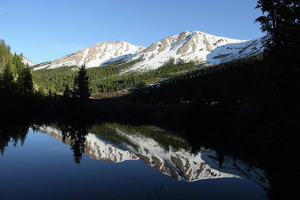 Photograph - Reflections On Independence Pass by Marie Leslie