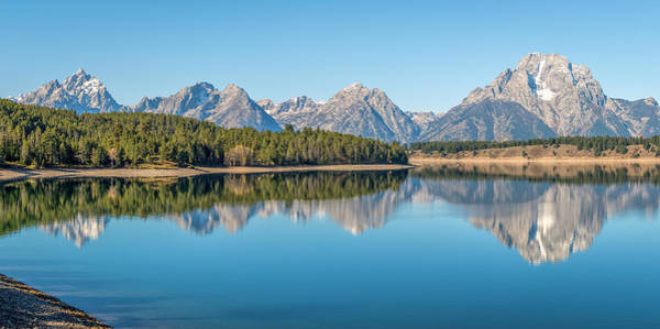 Photograph - Reflections On Jackson Lake by James Udall