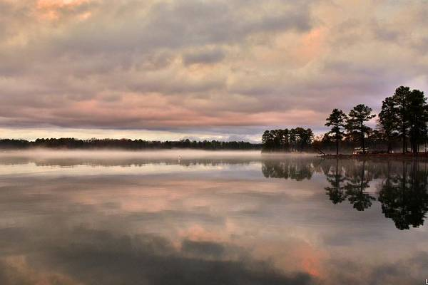 Photograph - Reflections On Lake Murray Sc by Lisa Wooten