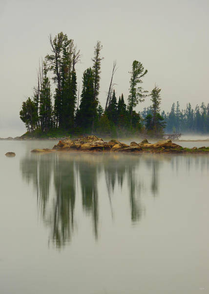 Photograph - Reflections On Negative Space by Greg Norrell
