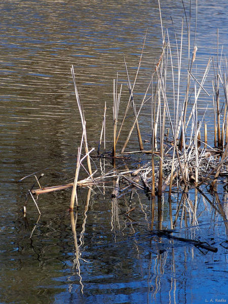 Photograph - Reflections On The Yellow River by Lauren Radke