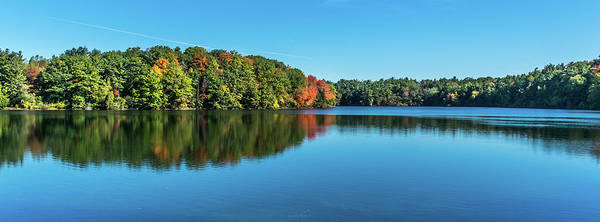Photograph - Reflections Pano by Gabriel Israel