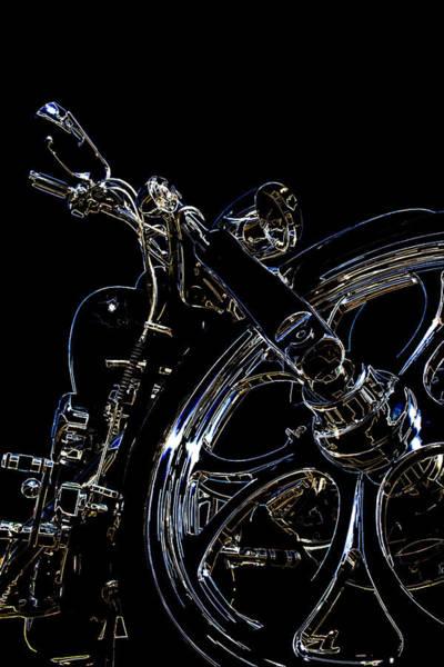 Chopper Wall Art - Digital Art - Reflections by Ricky Barnard