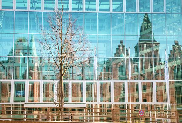 Photograph - Reflections_hafencity-old And New by Marina Usmanskaya