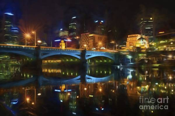 Photograph - Reflective City      Go2 by Ray Warren