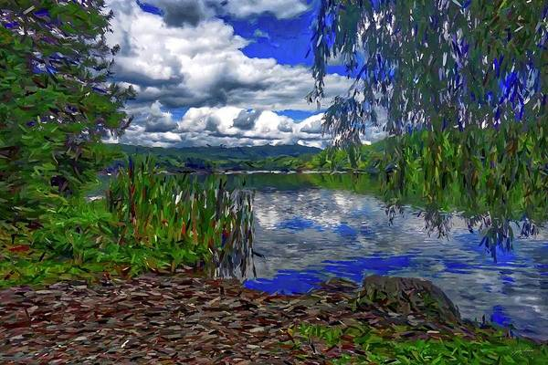 Painting - Reflective Lake by Joan Reese