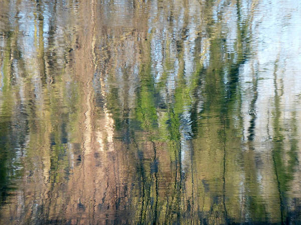 Photograph - Reflet Rhodanien Pastel 1 by Marc Philippe Joly