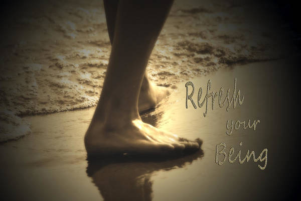 Photograph - Refresh Your Being Spa Series by Cathy Beharriell