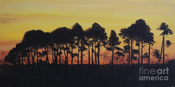 Painting - Refuge Sundown by Lizi Beard-Ward