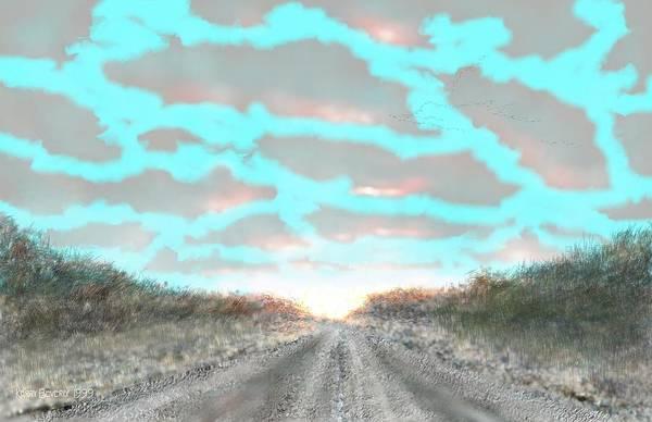 Digital Art - Refugio by Brandy Beverly