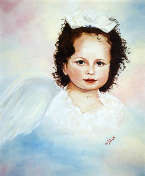 Painting - Regal Angel by Joni McPherson