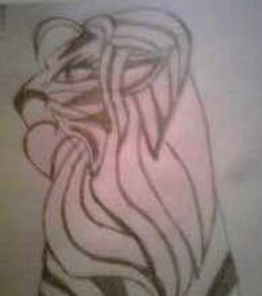 Bengal Tiger Drawing - Regal Bengal by Alisha Carroll