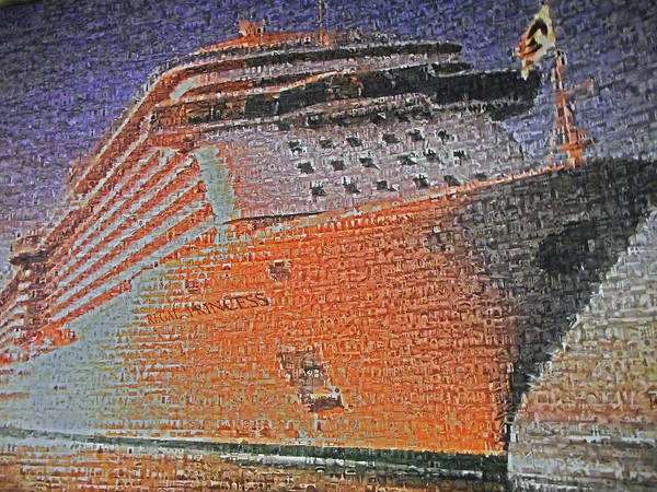 Princess Cruise Lines Photograph - Regal Princess 1 by Ron Kandt