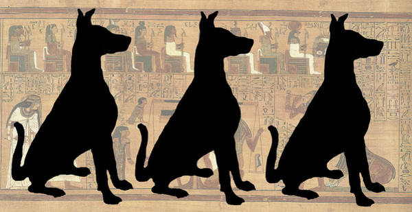 Photograph - Regal Sit, Ancient Egyptian Background by Karla Beatty