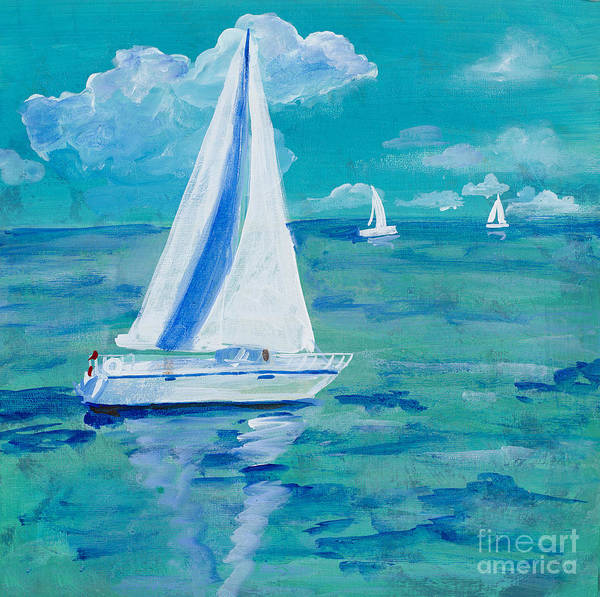 Painting - Regatta Winds by Robin Maria Pedrero